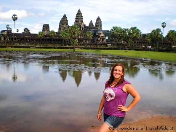 Cristina Luisa in Angkor